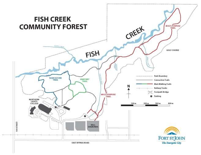 Fish Creek Trail Map